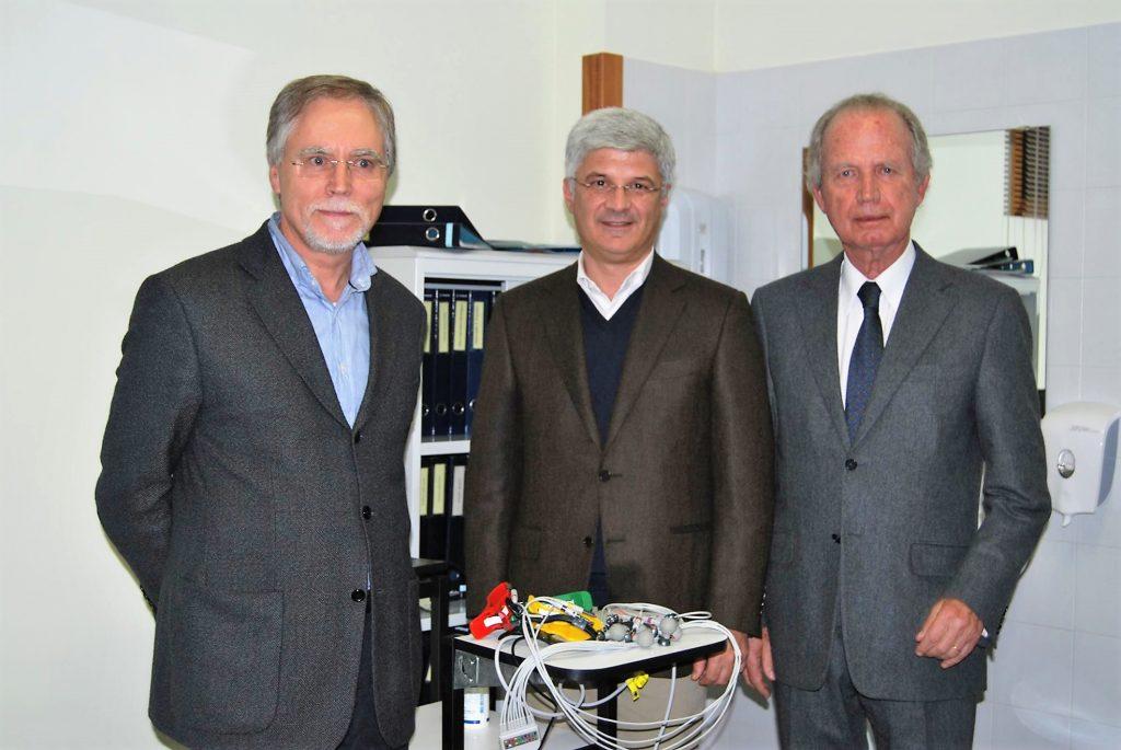 """CLIP: Fundação Ilídio Pinho oferece o primeiro aparelho no país do sistema """"cardio on"""""""