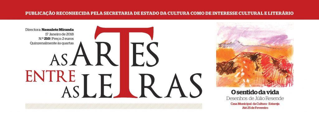 """CLIP: """"As Artes entre as Letras"""", 17 de Janeiro de 2018, n.º 210"""
