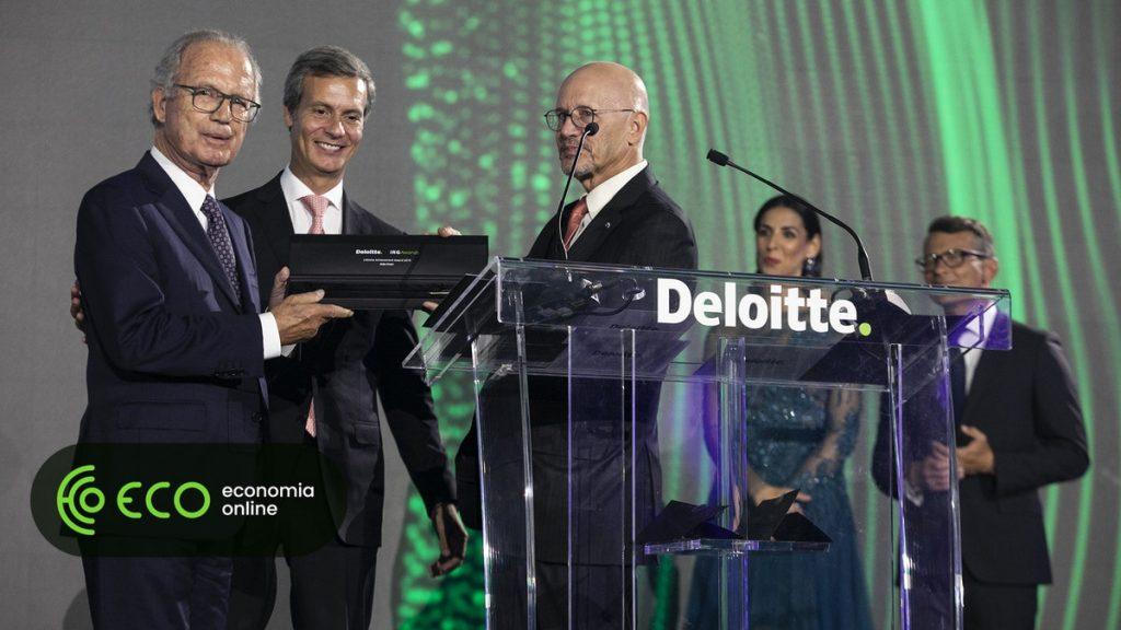 Ilídio Pinho distinguido pela Deloitte