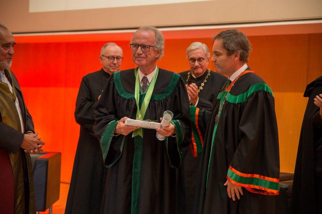 Ilídio Pinho distinguido como Doutor Honoris Causa pela Universidade de Aveiro